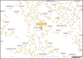 map of Kukrik
