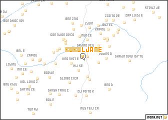 map of Kukuljane