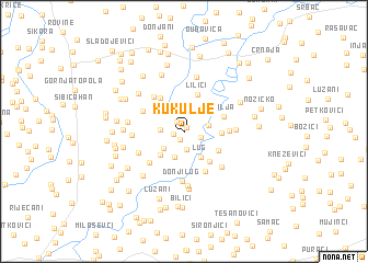 map of Kukulje