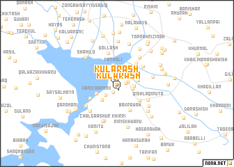 map of Kularash