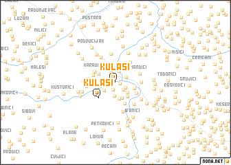 map of Kulaši