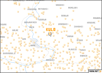 map of Kula