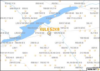 map of Kuleszka