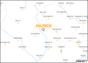 map of Kulfacık
