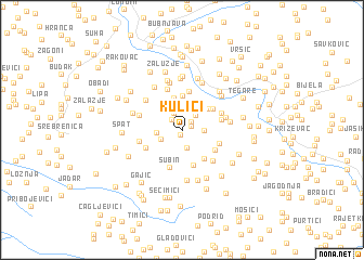 map of Kulići