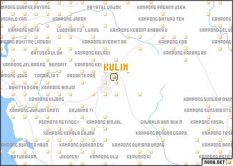 map of Kulim