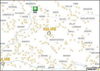 map of Kuline