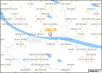 map of Kulin