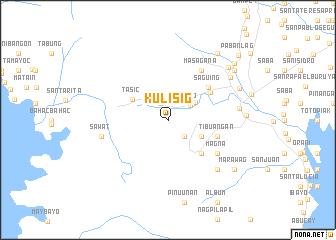 map of Kulisig