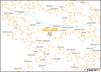 map of Kuljani