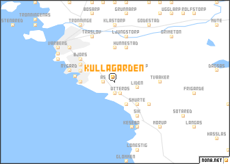 map of Kullagården