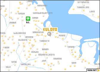 Kuloro Gambia The map nonanet