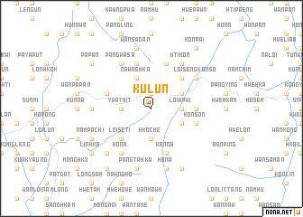 map of Ku-lun