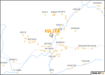 map of (( Kul\