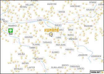 map of Kumane