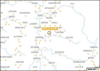 map of Kumanga