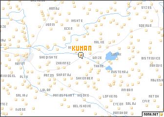 map of Kuman