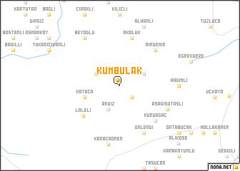 map of Kumbulak