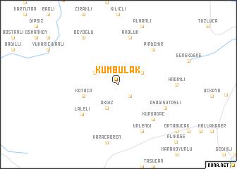 map of Kumbulak