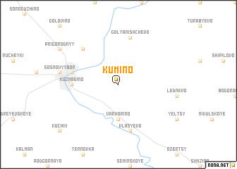 map of Kumino