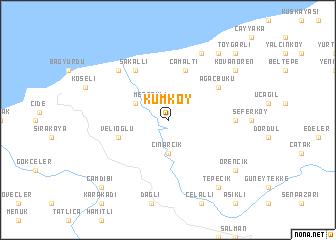Kumky Turkey map nonanet