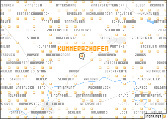 map of Kümmerazhofen