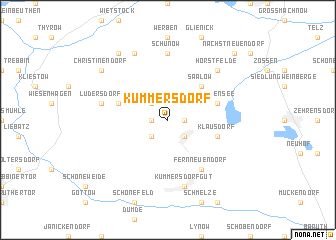 map of Kummersdorf