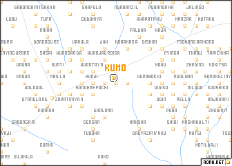 map of Kumo