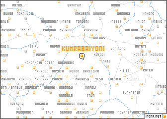 map of Kumrabai Yoni