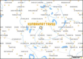 map of Kunbaw-nattawsu