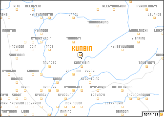 map of Kunbin