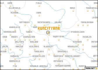 map of KuNcityana