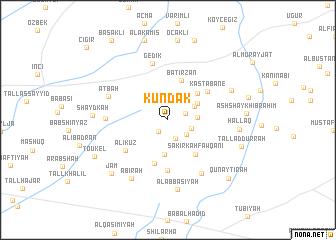 map of Kundak