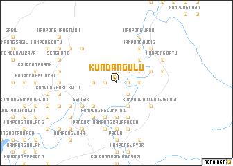 map of Kundang Ulu