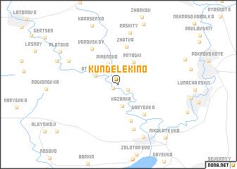 map of Kundelekino