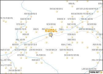 map of Kundl