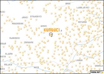 map of Kunduci