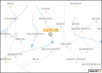 map of Kunevo