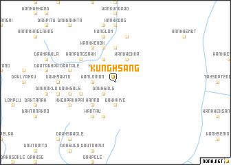 map of Kūnghsāng