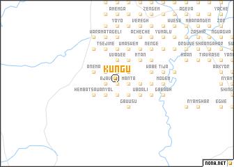 map of Kungu