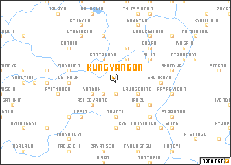 map of Kungyangon