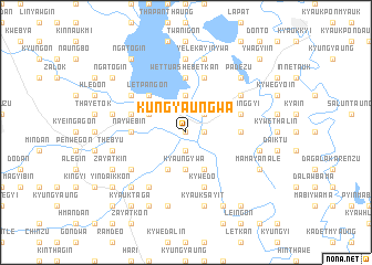 map of Kungyaungwa