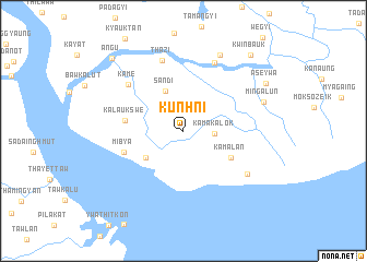 map of Kunhni