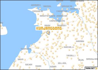 map of Kunjang-dong
