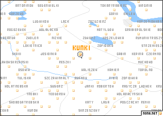 map of Kunki