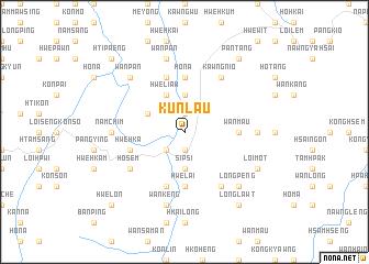 map of Kunlau