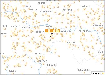 map of Kunovo