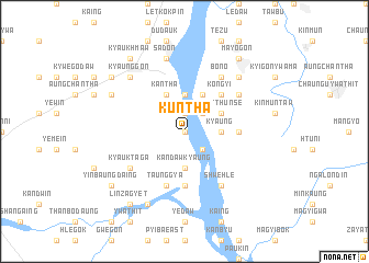map of Kuntha