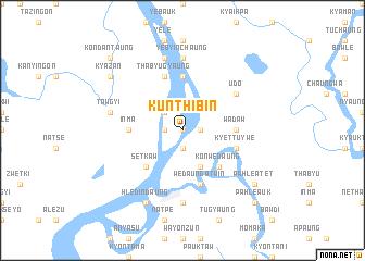 map of Kunthibin