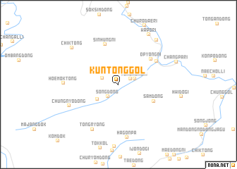 map of K\